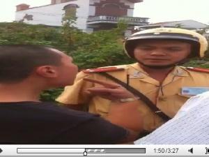 Thực hư clip CSGT Hải Phòng đánh chảy máu người vi phạm