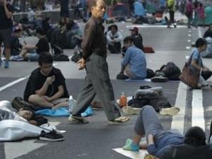 Người biểu tình Hồng Kông không chịu thương lượng