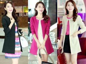 15 mẫu áo khoác nữ thu đông thời trang, sành điệu