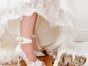 Những mẫu giày cưới hot nhất 2014