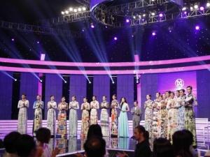Nhan sắc thí sinh Hoa khôi Áo dài Việt Nam chưa thực sự nổi bật