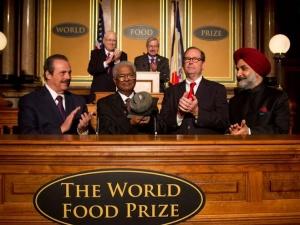 Tiến sĩ Ấn Độ được vinh danh tại lễ trao giải lương thực thế giới 2014