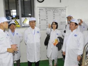 Đại sứ Nhật Bản thăm và làm việc tại trang trại bò sữa Vinamilk