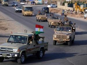 Chiến binh người Kurd ở Iraq đến Kobani tham gia tiêu diệt IS