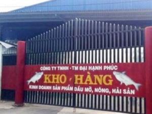 """Đình chỉ công ty xuất khẩu mỡ """"bẩn"""" cho Đài Loan"""