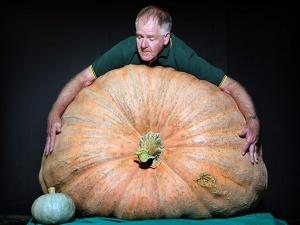 Thưởng thức rau quả khổng lồ tại nước Anh