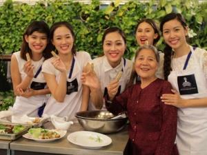 Trải nghiệm về kiến thức và văn hóa ẩm thực Việt Nam cùng dàn Hoa khôi áo dài