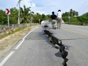 Động đất 5,4 độ richter ở biển Đông