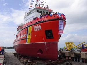 Đóng mới tàu cảnh sát biển hiện đại nhất Việt Nam
