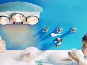 Hướng dẫn chọn mua đèn sưởi cho phòng tắm