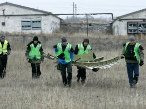 Một phần xác máy bay MH17 đã được chuyển về Kharkov