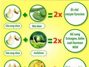 Lưu ý khi sử dụng sữa ong chúa trị nám da