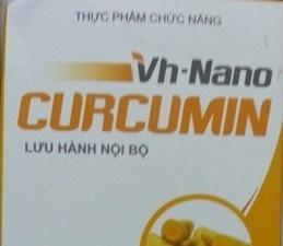 Khuyến cáo không sử dụng thực phẩm chức năng VH- Nanocurcumin