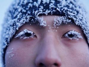 Binh lính Trung Quốc tập luyện trong thời tiết âm 30 độ