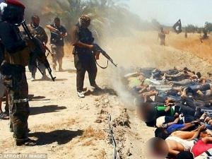Phát hiện ngôi mộ tập thể chôn 230 thi thể bị khủng bố IS tàn sát