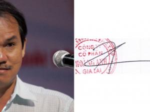 Chữ ký đáng giá nghìn tỷ của các bậc đại gia Việt