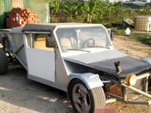 Người Hà Nội tự chế xe hơi 60 triệu đồng