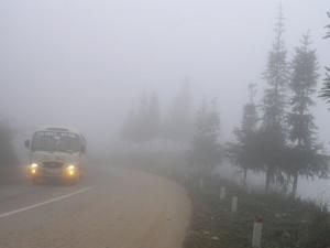Dự báo thời tiết hôm nay ngày 26/1/2015: Sương mù bao trùm trên cả nước, trưa chiều trời nắng
