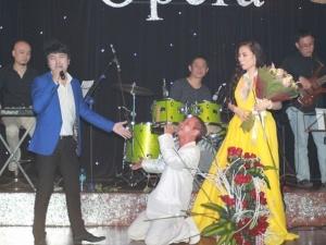 Linh Linh bị fan hâm mộ của Dương Ngọc Thái giật micro ngay trên sân khấu