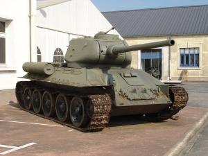 Loại xe tăng T-34 huyền thoại của Hồng quân Liên Xô