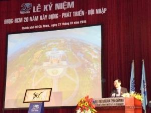 Chủ tịch nước: ĐHQG TP.HCM 10 năm nữa phải ngang tầm khu vực