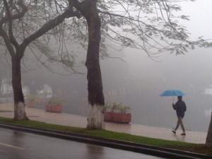 Dự báo thời tiết ngày mai 28/1/2015: Miền Bắc có mưa rải rác, có sương mù nhẹ vào sáng sớm
