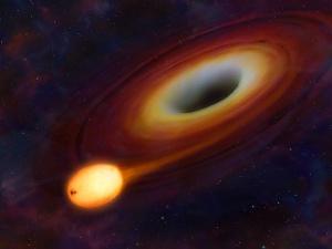 Chứng kiến siêu lỗ đen 'nuốt chửng' ngôi sao cách 3 tỷ năm ánh sáng
