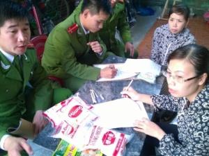 Triệt phá đường dây chuyên sản xuất  bột nêm, mì chính giả ở Thanh Hóa