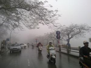 Dự báo thời tiết hôm nay 2/3/2015: Các tỉnh miền Bắc trời trở rét, đêm có mưa vài nơi