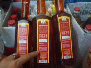 Quảng Bình: Triệt phá vụ làm giả nước mắm lớn nhất với hơn 1800 chai