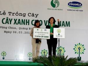 Trồng hơn 13.000 cây xanh tại nơi an nghỉ của Đại tướng Võ Nguyên Giáp