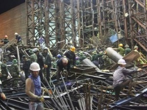 Cập nhật vụ sập giàn giáo 14 người chết tại khu kinh tế Vũng Áng: Hé lộ nguyên nhân