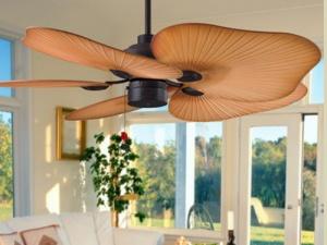 Chọn mua quạt trần thay máy điều hòa ngày nóng