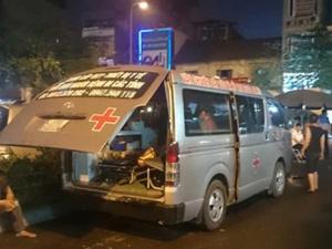 Đánh lái xe cứu thương: Chờ kết luận công an