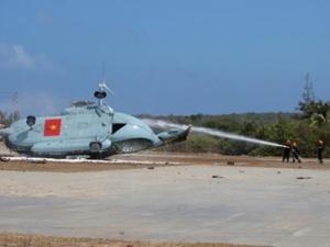 Hé lộ nguyên nhân trực thăng rơi trên đảo Phú Quý