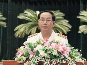 Bộ trưởng Trần Đại Quang: Công an Tp. HCM xuất sắc