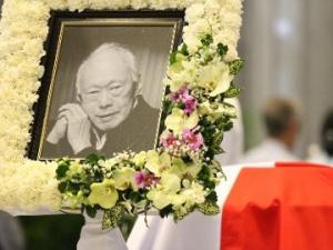 Toàn cảnh buổi lễ truy điệu cố Thủ tướng Lý Quang Diệu