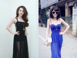 Tự tin mặc váy maxi xuyên thấu quyến rũ như sao Việt