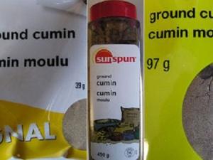 Canada thu hồi sản phẩm bột thì là nhiễm khuẩn gây dị ứng