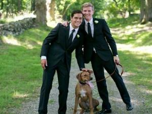 Đám cưới đồng tính trong tù đầu tiên