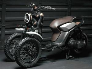 Xe ga ba bánh thể thao của Yamaha lộ diện đầy ấn tượng