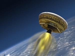 NASA  thử nghiệm 'đĩa bay' chắn nhiệt cho cuộc đổ bộ Sao Hỏa