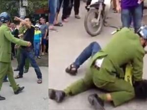 Danh tính nam thanh niên vật lộn với cảnh sát giữa đường