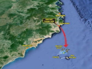 Đã tìm thấy hai phi công vụ máy bay SU 22 rơi ở gần đảo Phú Quý chưa?