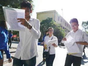 Cập nhật kỳ thi THPT Quốc gia 2015: Đã có đáp án thi môn Toán