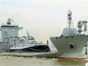 Rò rỉ hình ảnh tàu đổ bộ 'nhái' của Trung Quốc