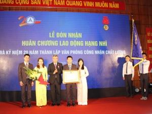BOA đón nhận Huân chương Lao động hạng Nhì và kỷ niệm 20 năm thành lập
