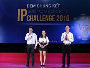 Bùng nổ sáng tạo trong đêm chung kết IP Challenge 2016