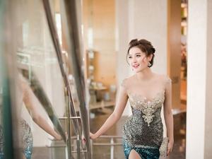 Á hậu Huyền My khoe vòng một sexy với váy 230 triệu đồng