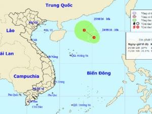 Dự báo thời tiết: Dải hội tụ nhiệt đới mạnh lên thành áp thấp ở biển Đông
